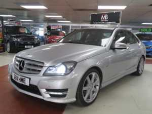 2011 Mercedes-Benz C Class C250 CDI BlueEFFICIENCY Sport 4dr Auto, Sat Nav, + 14 Day Money Back* + 4 Doors SALOON