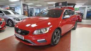 2013 63 Volvo V60 D2 [115] R DESIGN [Start Stop] 5dr, Sport Leather Seats, 14 Day Money Back* 5 Doors ESTATE
