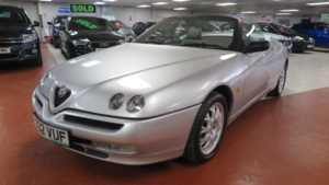 2000 X Alfa Romeo Spider 2.0 TS 16V Lusso 2dr, +++ 14 Day Money Back* +++ 2 Doors Cabriolet