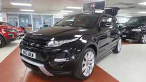 2013 13 Land Rover Range Rover Evoque 2.2 SD4 Dynamic 5dr, 4WD, Sat Nav, +++ 14 Day Money Back* +++ 5 Doors ESTATE