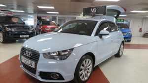 2012 12 Audi A1 1.6 TDI SPORT [Start Stop] 5dr, BT Audio, AC, ++ 14 Day Money Back* ++ 5 Doors HATCHBACK
