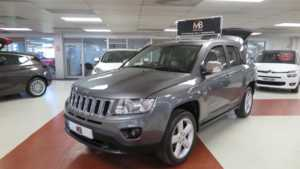 2012 08 Jeep Compass 2.2 CRD Limited 5dr Full Leather Sport Seats 4WD Bluetooth 5 Doors 4x4
