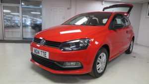 2014 14 Volkswagen Polo 1.0 S 3dr Sport Seats Bluetooth Audio 3 Doors HATCHBACK