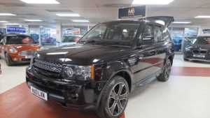 2013 13 Land Rover Range Rover Sport 3.0 SDV6 HSE Black Edition 5dr Auto, Sat Nav, Rev-Cam, + 14 Day Money Back* 5 Doors 4x4