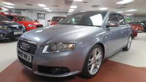 2007 07 Audi A4 2.0 TDi Quattro 170 S LINE 4dr, 4WD, +++ 14 Day Money Back* +++ 4 Doors SALOON