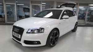 2011 11 Audi A3 2.0 TDI Black Edition 5dr [Start Stop] Sport LTH Seats LED/Xenons 5 Doors HATCHBACK