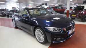 2014 14 BMW 4 Series 420d Luxury 2dr Auto Sat Nav Full LTH BT Audio Convertible 2 Doors Sports