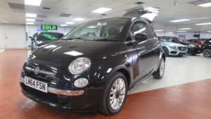 2014 64 Fiat 500 0.9 TwinAir Lounge S/S 3dr, Pan-Roof ++ 14 Day Money Back* ++ 3 Doors HATCHBACK