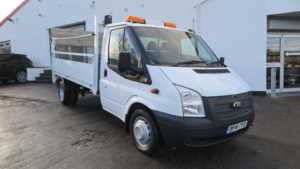 2014 14 Ford Transit Chassis Cab TDCi 155ps [DRW] DROPSIDE TAIL LIFT Doors Dropside