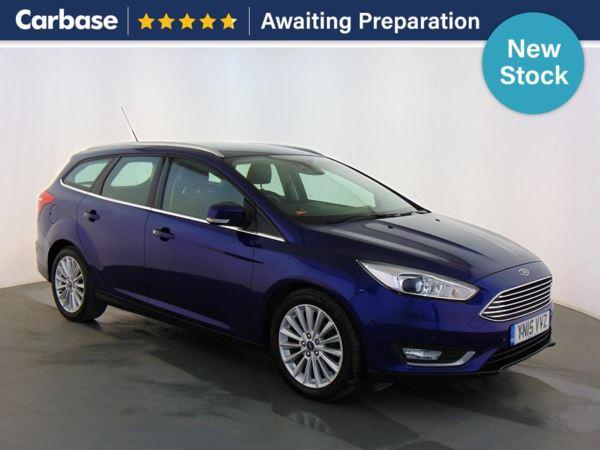 (2015) Ford Focus 1.5 TDCi 120 Titanium X 5dr - Estate £1175 Of Extras - Satellite Navigation - Bluetooth Connection - Parking Sensors