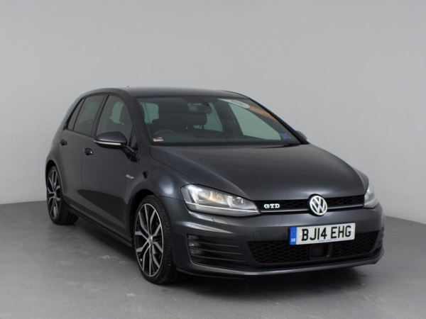 (2014) Volkswagen Golf 2.0 TDI GTD 5dr £3470 Of Extras - Satellite Navigation - Bluetooth Connection - £20 Tax