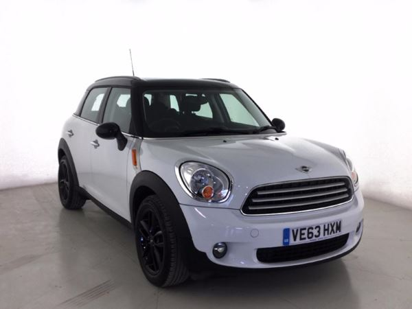 (2014) MINI Countryman 1.6 Cooper D 5dr - SUV 5 Seats £1230 Of Extras - Bluetooth Connection - £30 Tax - Parking Sensors - DAB Radio