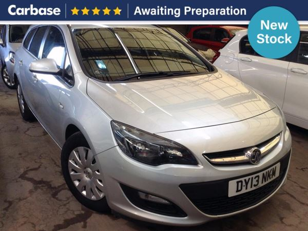 (2013) Vauxhall Astra 1.7 CDTi 16V ecoFLEX Exclusiv [130] 5dr [S/S] Estate £745 Of Extras - Bluetooth Connection - £20 Tax - Aux MP3 Input - Cruise Control