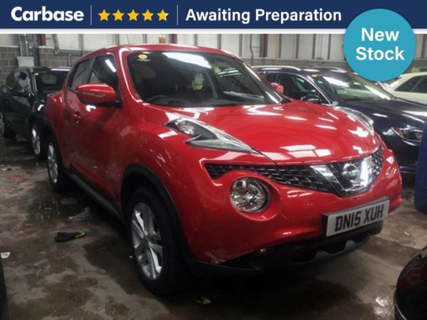 (2015) Nissan Juke 1.5 dCi Acenta 5dr [Start Stop] SUV 5 Seats Bluetooth Connection - Aux MP3 Input - Cruise Control - 1 Owner - Air Conditioning - Climate Control