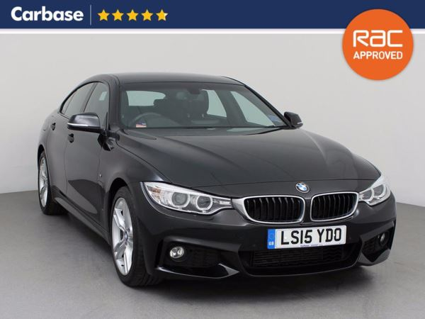 (2015) BMW 4 Series 420d [190] M Sport 5dr Auto [Professional Media] Coupe £645 Of Extras - Satellite Navigation - Luxurious Leather - Bluetooth Connection