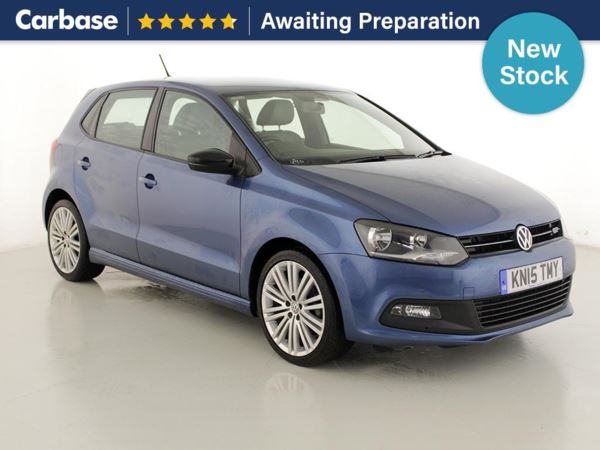 (2015) Volkswagen Polo 1.4 TSI ACT BlueGT 5dr Satellite Navigation - Bluetooth Connection - £20 Tax - Parking Sensors - DAB Radio - Cruise Control