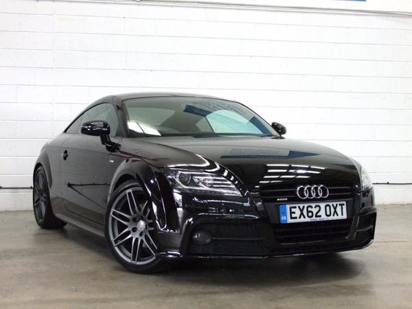 (2012) Audi TT 2.0 TDI Quattro Black Edition Luxurious Leather - Bluetooth Connectivity - 1 Owner