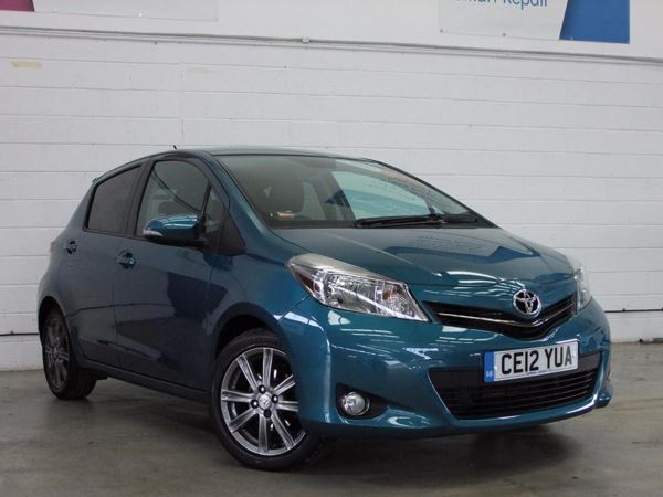 (2012) Toyota Yaris 1.33 VVT-i SR 5dr Multidrive S Bluetooth Connection - Aux MP3 Input - Air Conditioning