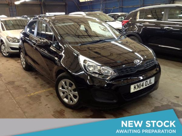 (2014) Kia Rio 1.25 1 Air 5dr Bluetooth Connection - £30 Tax - Aux MP3 Input - 1 Owner