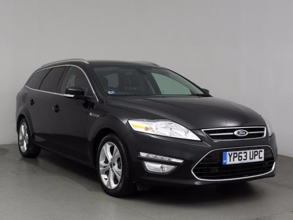 (2014) Ford Mondeo 2.0 TDCi 163 Titanium X Business Edition 5dr Satellite Navigation - Luxurious Leather - Bluetooth Connection - £30 Tax