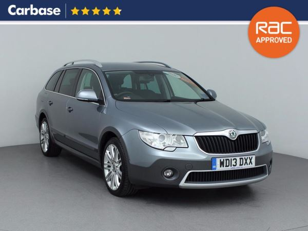 (2013) Skoda Superb 2.0 TDI CR 170 Outdoor 4X4 5dr Estate £1270 Of Extras - Bluetooth Connection - Parking Sensors - Alcantara