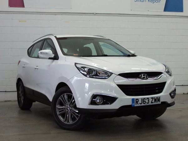 (2014) Hyundai Ix35 1.7 CRDi SE Nav 5dr 2WD - SUV 5 SEATS Satellite Navigation - Bluetooth Connection - USB Connection - Rain Sensor