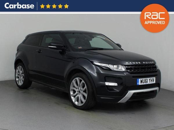 (2011) Land Rover Range Rover Evoque 2.2 SD4 Dynamic 3dr Auto - SUV 5 Seats Satellite Navigation - Luxurious Leather - Bluetooth Connection - Parking Sensors
