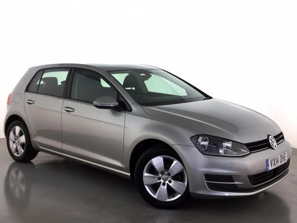 (2014) Volkswagen Golf 1.6 TDI 105 SE 5dr £875 Of Extras - Bluetooth Connection - Zero Tax - DAB Radio - Rain Sensor