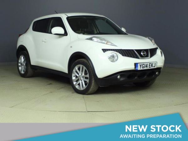 (2014) Nissan Juke 1.5 dCi Acenta 5dr [Premium Pack] [Start Stop] Bluetooth Connection - £20 Tax - Parking Sensors - USB Connection - Cruise Control