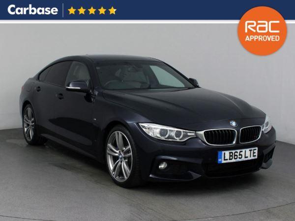 (2016) BMW 4 Series 430d M Sport 5dr Auto [Professional Media] Satellite Navigation - Luxurious Leather - Bluetooth Connection - Parking Sensors