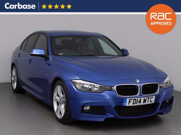 (2014) BMW 3 Series 330d M Sport 4dr Step Auto Luxurious Leather - Bluetooth Connection - Parking Sensors - DAB Radio