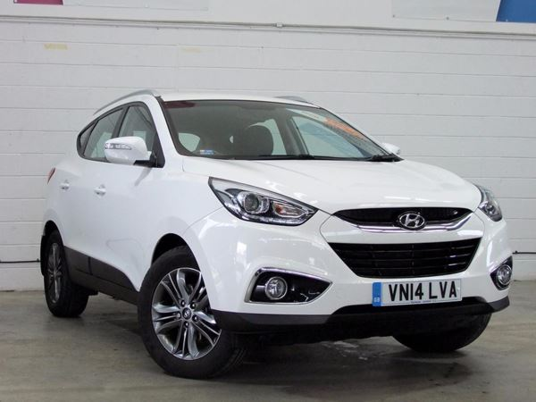 (2014) Hyundai Ix35 1.7 CRDi SE Nav 5dr 2WD Satellite Navigation - Bluetooth Connection - USB Connection - Rain Sensor