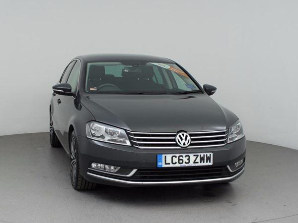 (2014) Volkswagen Passat 2.0 TDI Bluemotion Tech Sport 4dr Satellite Navigation - Bluetooth Connection - £30 Tax - DAB Radio - Rain Sensor