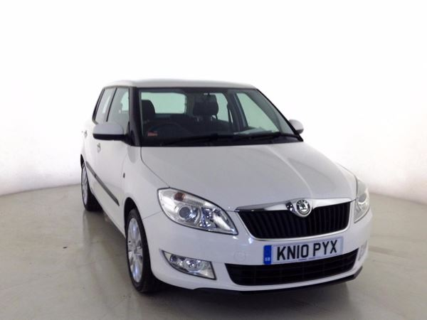 (2010) Skoda Fabia 1.6 TDI CR 90 Elegance 5dr £20 Tax - Parking Sensors - Aux MP3 Input - Cruise Control - 1 Owner