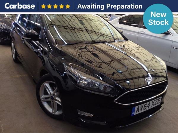 (2015) Ford Focus 1.6 TDCi 115 Zetec S 5dr Bluetooth Connection - £20 Tax - DAB Radio - Aux MP3 Input - USB Connection