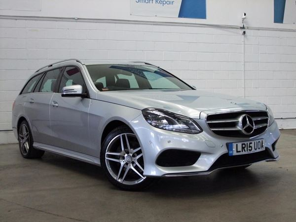 (2015) Mercedes-Benz E Class E220 BlueTEC AMG Line 5dr 7G-Tronic Satellite Navigation - Luxurious Leather - Bluetooth Connection - Parking Sensors