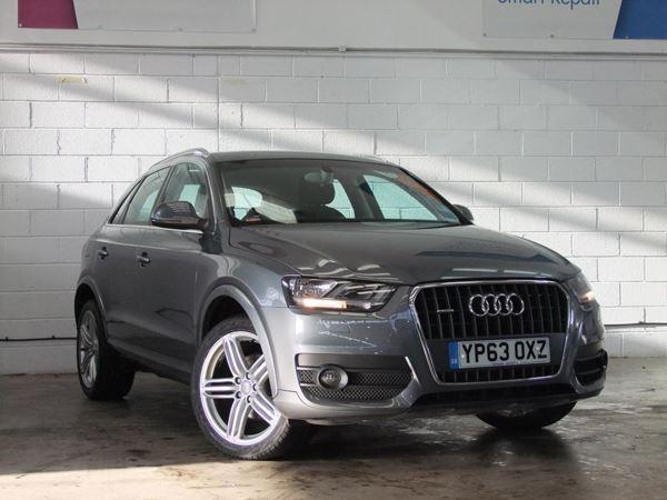 (2013) Audi Q3 2.0 TDI Quattro SE 5dr £2645 Of Extras - Satellite Navigation - Bluetooth Connection - Parking Sensors