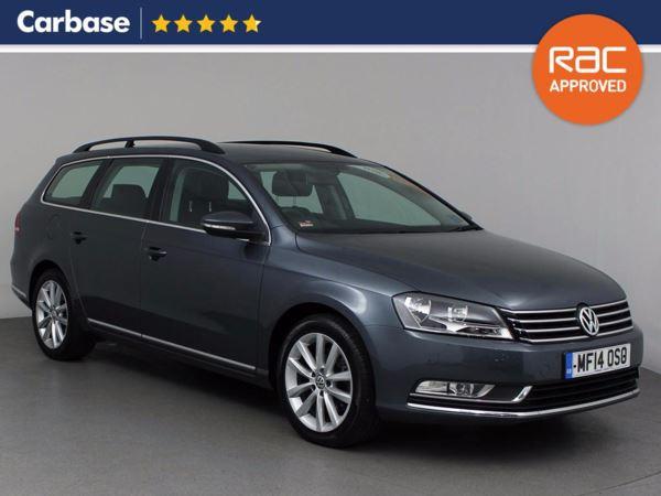 (2014) Volkswagen Passat 2.0 TDI Bluemotion Tech Executive 5dr DSG Estate £810 Of Extras - Satellite Navigation - Luxurious Leather - Bluetooth Connectivity