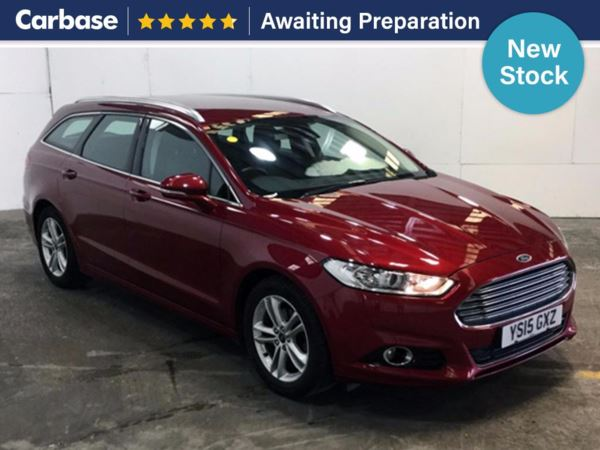 (2015) Ford Mondeo 2.0 TDCi 180 Titanium 5dr Estate £1540 Of Extras - Satellite Navigation - Bluetooth Connection - £30 Tax