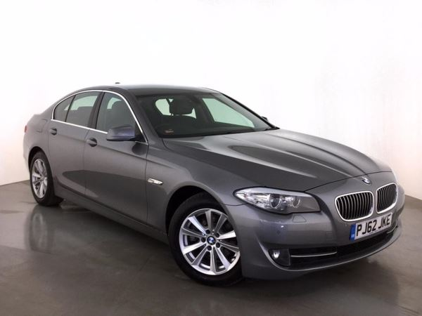 (2013) BMW 5 Series 520d SE 4dr Step Auto [Start Stop] £5420 Of Extras - Satellite Navigation - Luxurious Leather - Bluetooth Connectivity