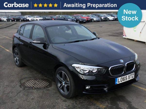 (2015) BMW 1 Series 118i [1.5] Sport 5dr Satellite Navigation - Bluetooth Connection - DAB Radio - Aux MP3 Input