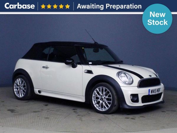 (2015) MINI Convertible 1.6 Cooper D 2dr Convertible Luxurious Leather - Bluetooth Connection - £20 Tax - Parking Sensors - DAB Radio - Aux MP3 Input