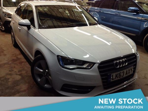 (2013) Audi A3 2.0 TDI Sport 5dr S Tronic [Start Stop] £2130 Of Extras - Satellite Navigation - Bluetooth Connection - £30 Tax