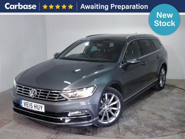 (2015) Volkswagen Passat 2.0 TDI SCR 190 R Line 5dr DSG Satellite Navigation - Luxurious Leather - Bluetooth Connection - £30 Tax
