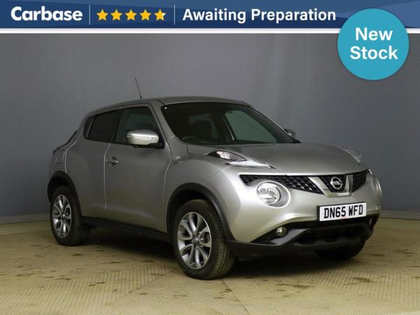 (2015) Nissan Juke 1.2 DiG-T Tekna 5dr - SUV 5 Seats Satellite Navigation - Luxurious Leather - Bluetooth Connection - Aux MP3 Input - Rain Sensor