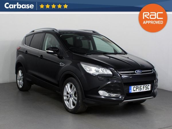 (2015) Ford Kuga 2.0 TDCi 150 Titanium X 5dr 2WD - SUV 5 Seats £1245 Of Extras - Panoramic Roof - Luxurious Leather - Bluetooth Connection - DAB Radio