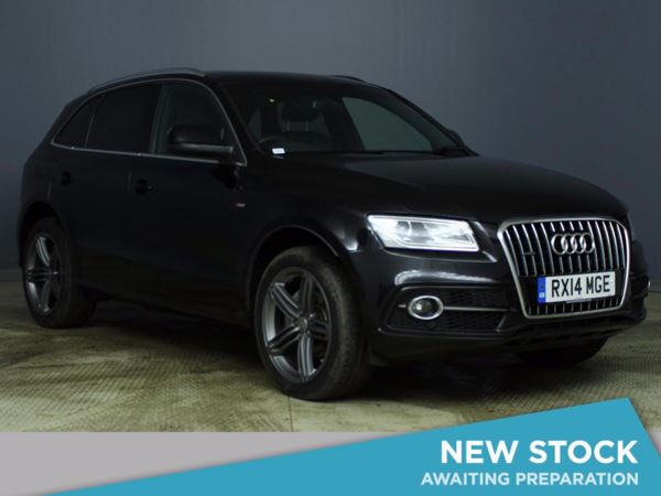 (2014) Audi Q5 2.0 TDI Quattro S Line Plus 5dr £1745 Of Extras - Panoramic Roof - Satellite Navigation - Bluetooth Connection