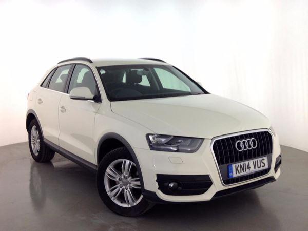 (2014) Audi Q3 1.4T FSI SE 5dr - SUV 5 Seats Bluetooth Connection - Parking Sensors - Rain Sensor - 6 Speed - Climate Control