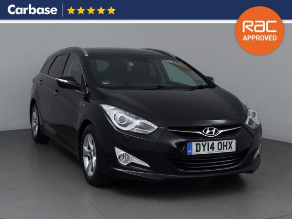 (2014) Hyundai i40 1.7 CRDi [136] Blue Drive Premium SE 5dr Estate Panoramic Roof - Satellite Navigation - Bluetooth Connection - £30 Tax