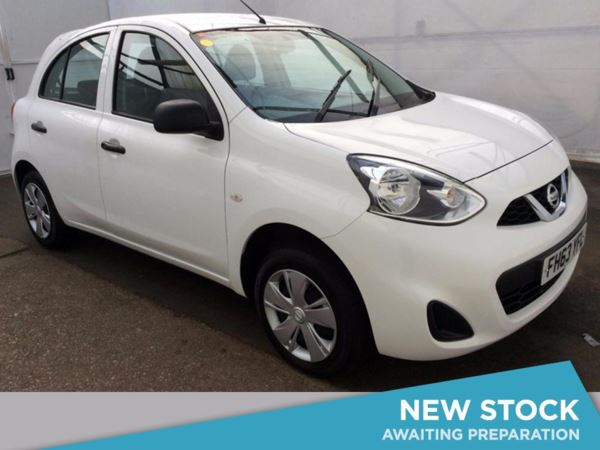 (2014) Nissan Micra 1.2 Visia 5dr Bluetooth Connection - £30 Tax - 1 Owner